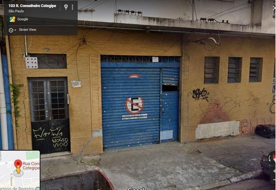 Galpão Em Belenzinho, São Paulo/sp De 611m² Para Locação R$ 9.000,00/mes - Ga524793