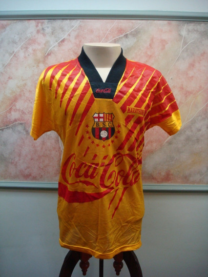 Camisa Futebol Barcelona Guayaquil Equador adidas Jogo 128