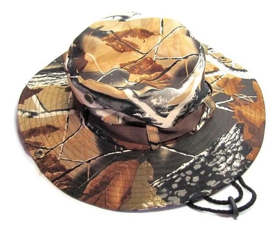 Sombrero Australiano Desert Camo Camping Outdoor Gabardina
