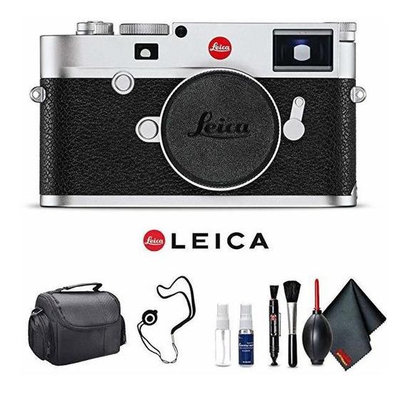 Camara Leica M10 Digital Rangefinder Silver Base Kit ®