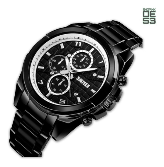 Oe53 Reloj Casual Moderno Resistente Al Agua Acero Deportes