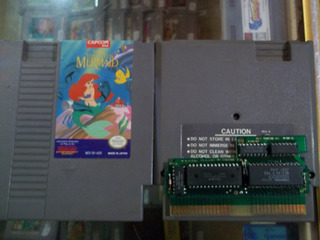 Disney The Little Mermaid Nintendo Nes La Sirenita