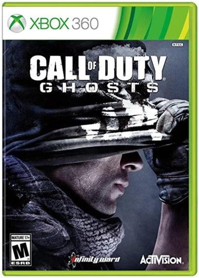 Call Of Duty Ghosts Xbox 360 Mídia Fisica Dvd Original X360