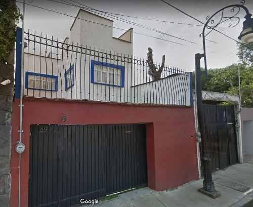Gran Inversion Remate De Casa En La Concepcion, Coyoacan