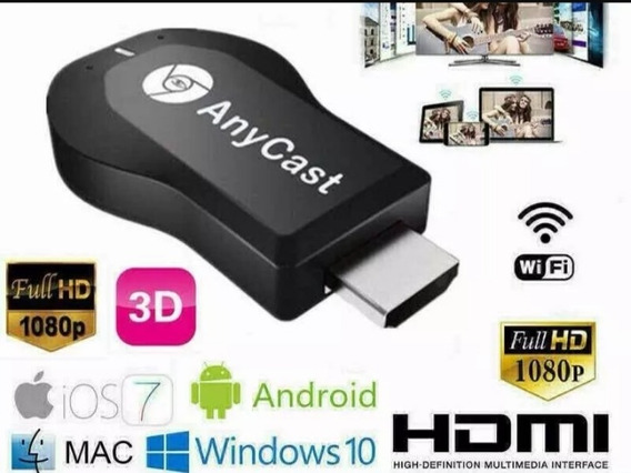 Anycast Mirascreen Hdmi Wifi Dongle Celular Pc Laptop A Tv
