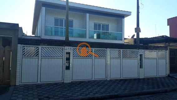 Casa Com 2 Dorms, Parque Das Bandeiras, São Vicente - R$ 199 Mil, Cod: 386 - V386