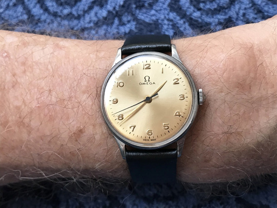 Relógio Omega Calibre 280 Salmão - 35mm Sem Contar A Coroa