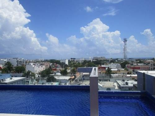 Loft 2 Hab Centro Playa Del Carmen P2567