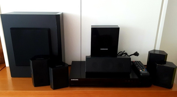 Home Theather Blue Ray 3d Samsung - Perfeito!