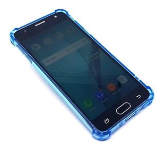 Capa Case Capinha Anti-impacto Dupla Proteção iPhone 7 Azul