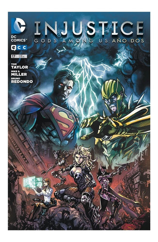 Imagen 1 de 3 de Injustice: Gods Among Us No. 17