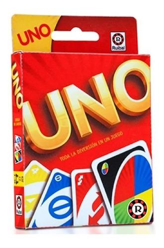 Uno Cartas Original Ruibal Mattel Juego Uno - Invictvs Mesa