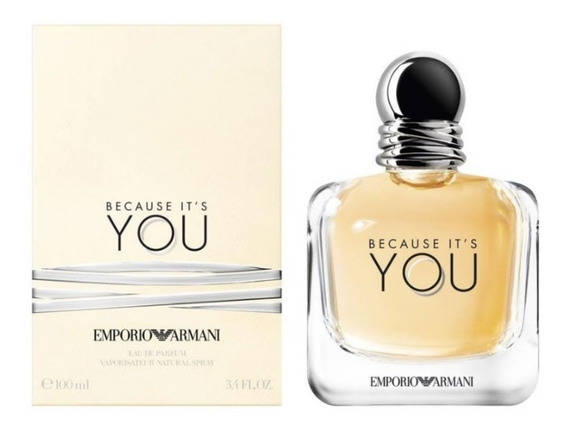 Perfume Feminino Because It