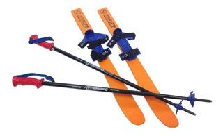 Esquíes Para Niños Ski Con Bastones De Regalo