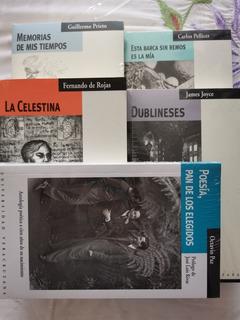 5 Libros De Literatura, Poesía.