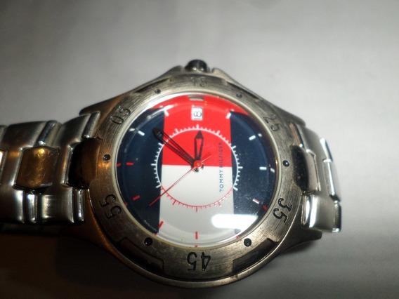 Reloj Tommy Hilfiger Y7d Stainles Steel Detalle Reparelo Ud