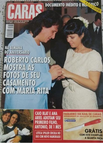 Reportagem Casamento Roberto Carlos & Maria Rita - Caras