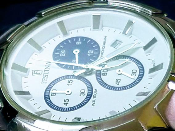 Festina Relógio Maravilhoso Novo, Quartz 43 Mm