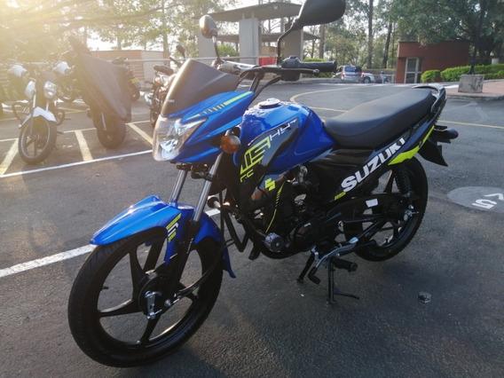 Suzuki Hayate Evolution 2019 Azul Y Negro 115 Cc