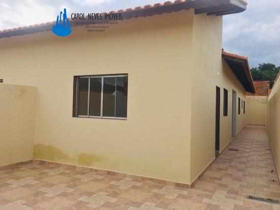 Casa Em Itanhaém Com 2 Domitórios Sendo 1 Suíte - 3467