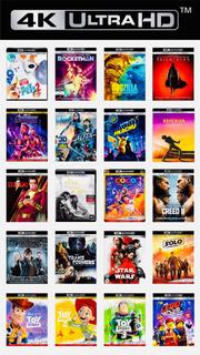 3 Películas 4k Ultra Hd 2018 2019 Marvel Eleccion