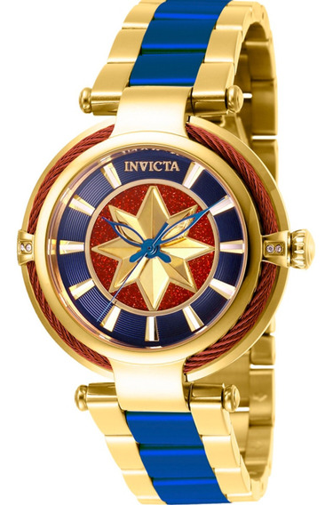 Relógio Invicta Feminino Marvel Mulher Maravilha 28832