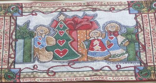 Navidad Exclusivo Caminos De Mesa Manteles Importados Regalo