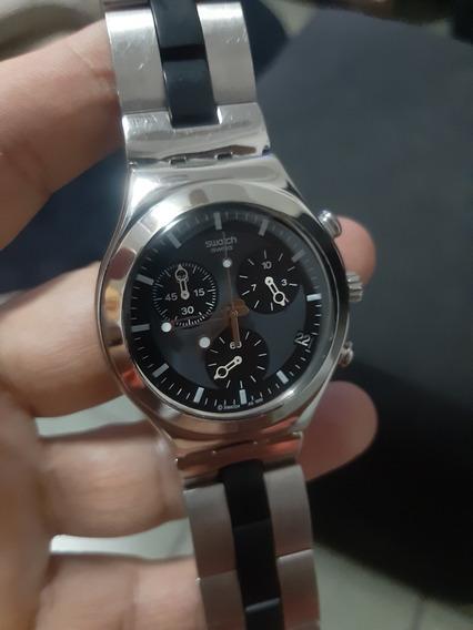 Relógio Swatch Irony Cronograf Estado De Zero. Original!