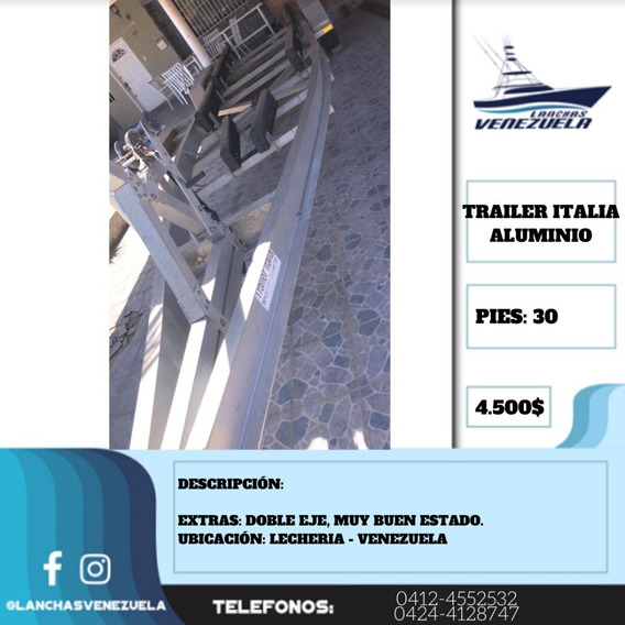 Trailer Italia Aluminio 30 Lv412