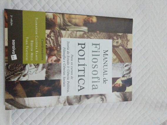 Livro Manual De Filosofia Política - 2ª Edição