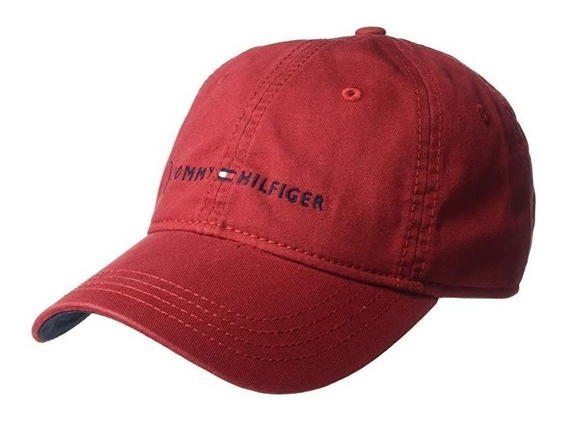Gorra Original Tommy Hilfiger Importada Rojo 6941823 608