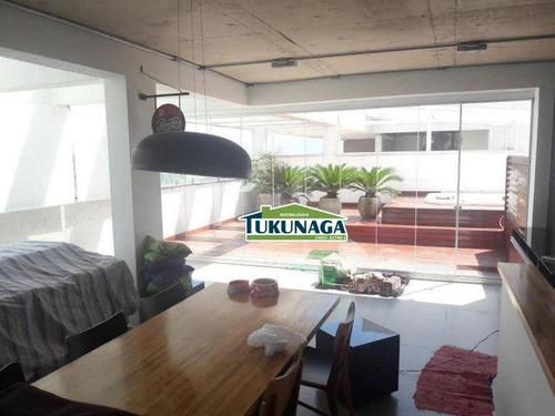 Cobertura Com 2 Dormitórios À Venda, 177 M² Por R$ 1.010.000,00 - Vila Galvão - Guarulhos/sp - Co0060