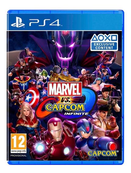 Marvel Vs Capcom Infinite - Ps4 - Mídia Física - Novo