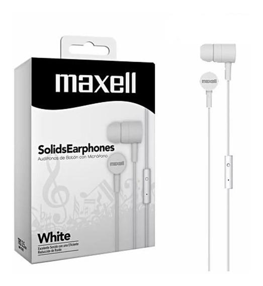 Fone De Ouvido Solid Branco Maxell