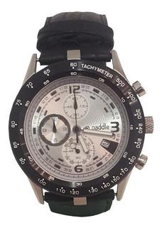 Reloj Hombre Paddle Watch 38106 Metal Y Cuero Deportivo