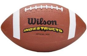 Bola De Futebol Americano Tn Official Football Marrom Wilson