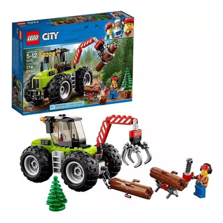60181 Lego City Tractor Forestal