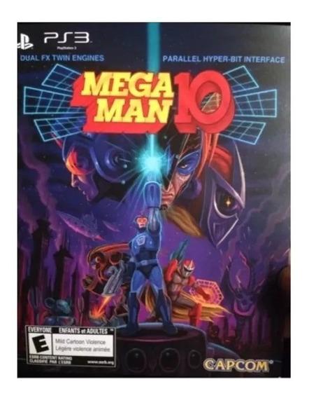 Megaman 10 Ps3 Jogo Psn Envio Rápido