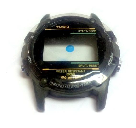 Caixa Nova Relógio Timex Expedition Atlantis Verde Militar