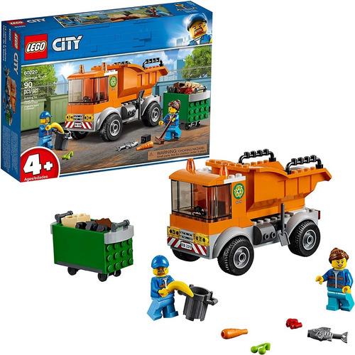 Lego City 60220 Camión De Basura 90pzs 100% Original