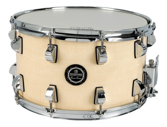 Caixa Bateria Nagano Snare Big Beat Natural Clear 14x8 C/nf