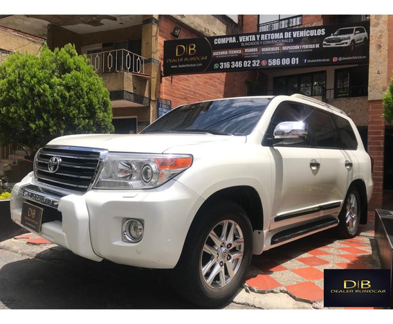 Toyota Land Cruiser Vxr 2014 Blindada