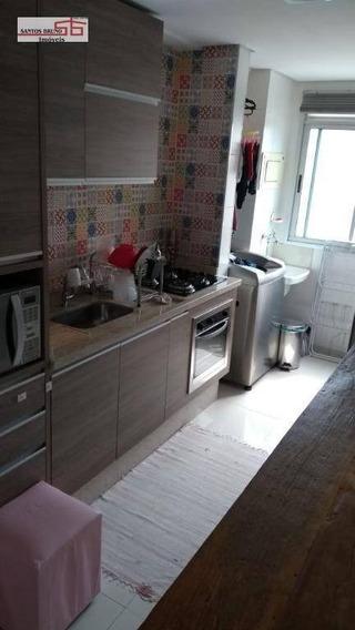 Apartamento Com 2 Dormitórios À Venda, 53 M² Por R$ 319.000,00 - Freguesia Do Ó - São Paulo/sp - Ap2014