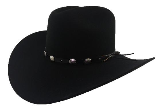 Sombrero Texana 20 X Tombstone Color Negro De Fina Lana