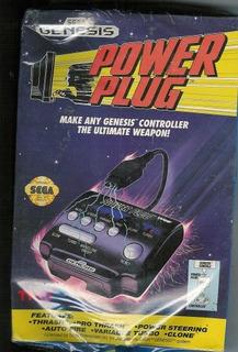 Tyco Power Plug Para Sega Genesis Controller Accesorio