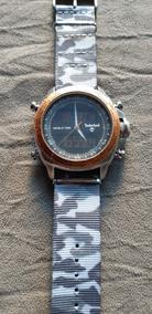 Relógio Timberlanad Wolrd Time Original - Usado