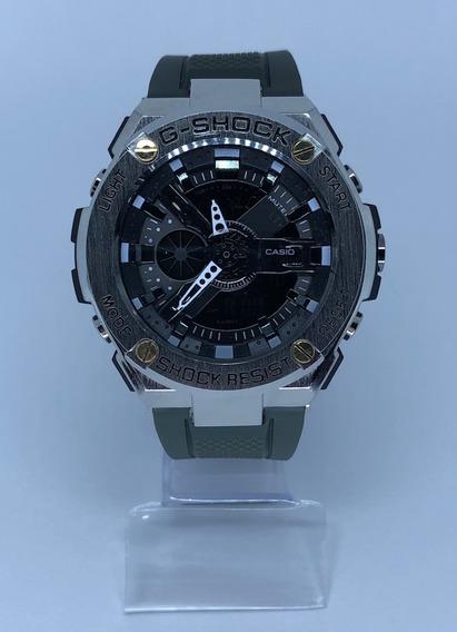 Relógio Masculino Esportivo Analógico Digital - Verde