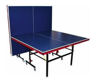 Mesa De Ping Pong Profesional Plegable Con Raquetas