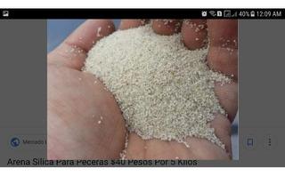 Arena Blanca Cuarzo Acuarios 1 Kg 1 Dolar Envio Todo El Pais