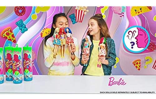Barbie Color Revela Muñeca Con 7 Sorpresas: El Agua Revela
